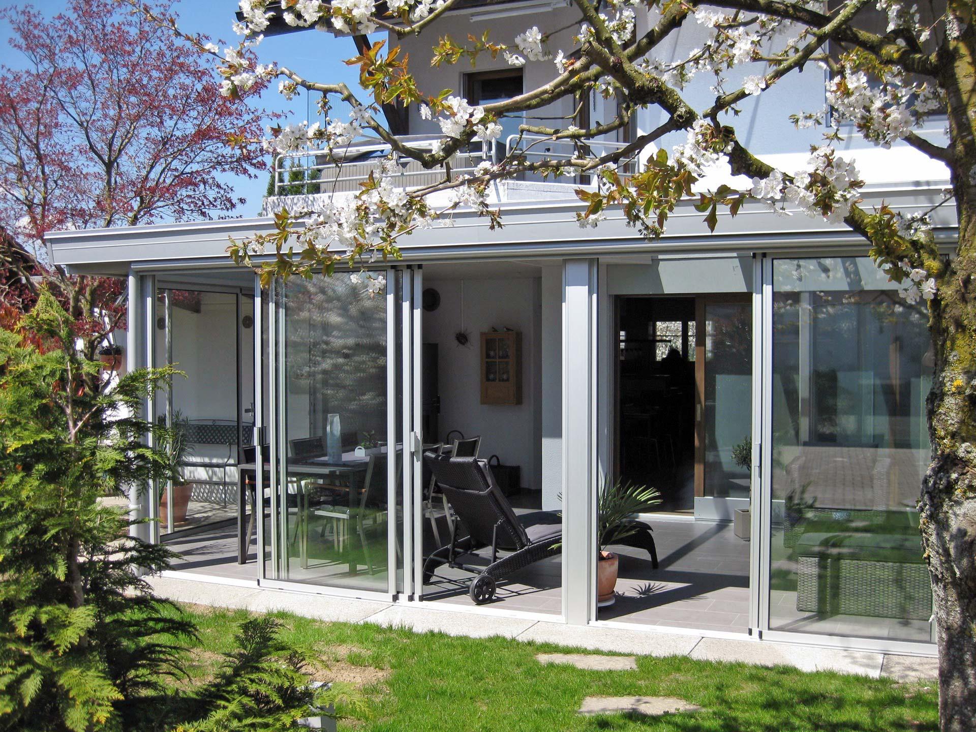 Wigasol Mein Wintergarten Aluwet Innen Heimeliges Holz Aussen Aluminium